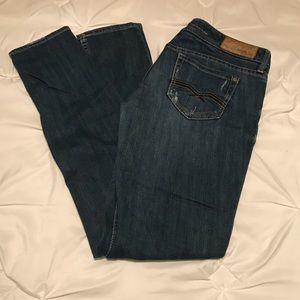 Express Jeans Low Rise Skinny Legs Sz 8